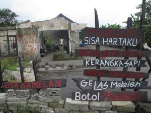 Rumah Sriyanto di Dusun Kopeng